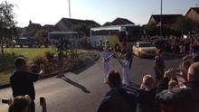 When the Olympic Torch Came to Brough